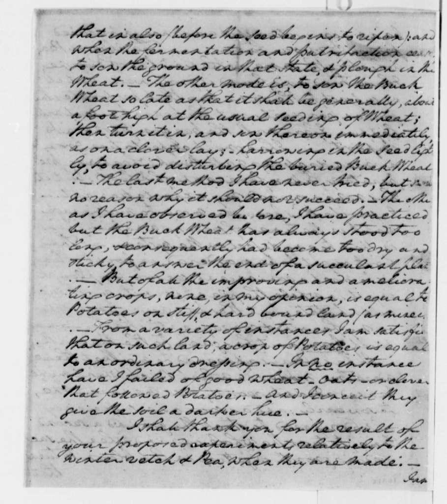 George Washington to Thomas Jefferson, October 4, 1795