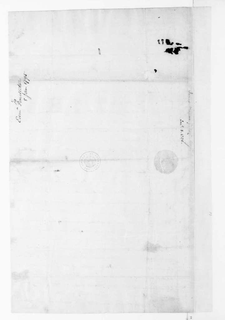 James Madison to Edmund Pendleton, January 8, 1795.