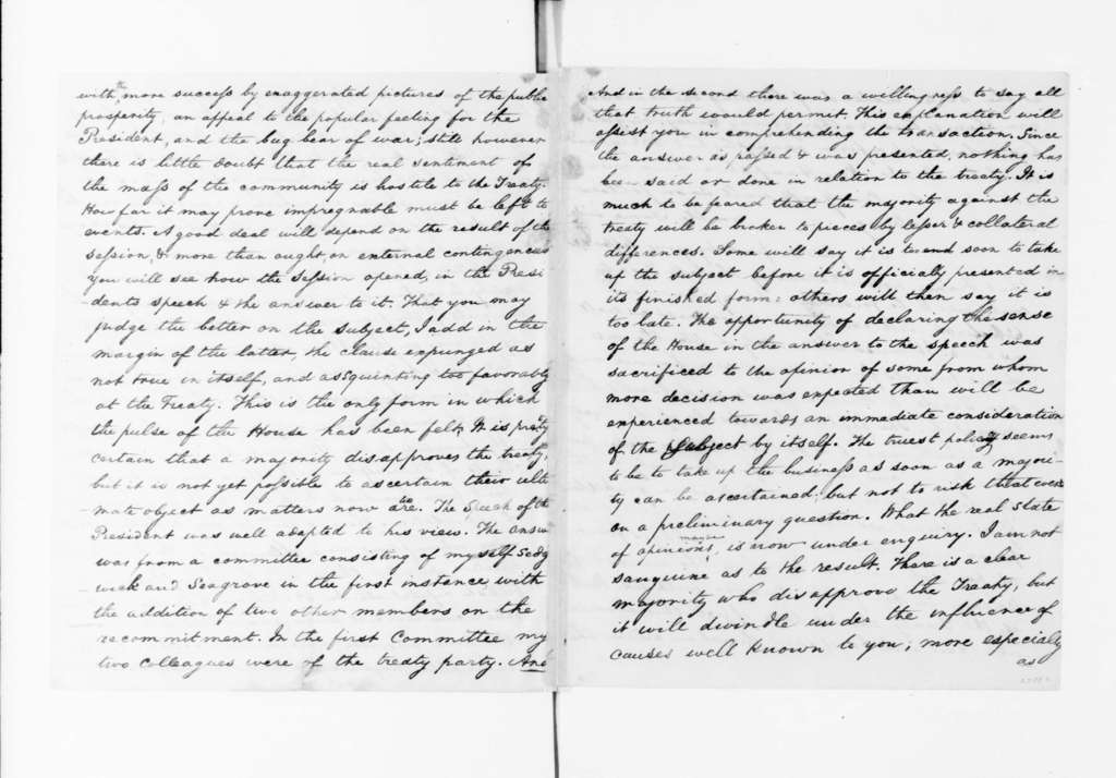 James Madison to James Monroe, December 20, 1795. partly in cipher, includes decoded copy.