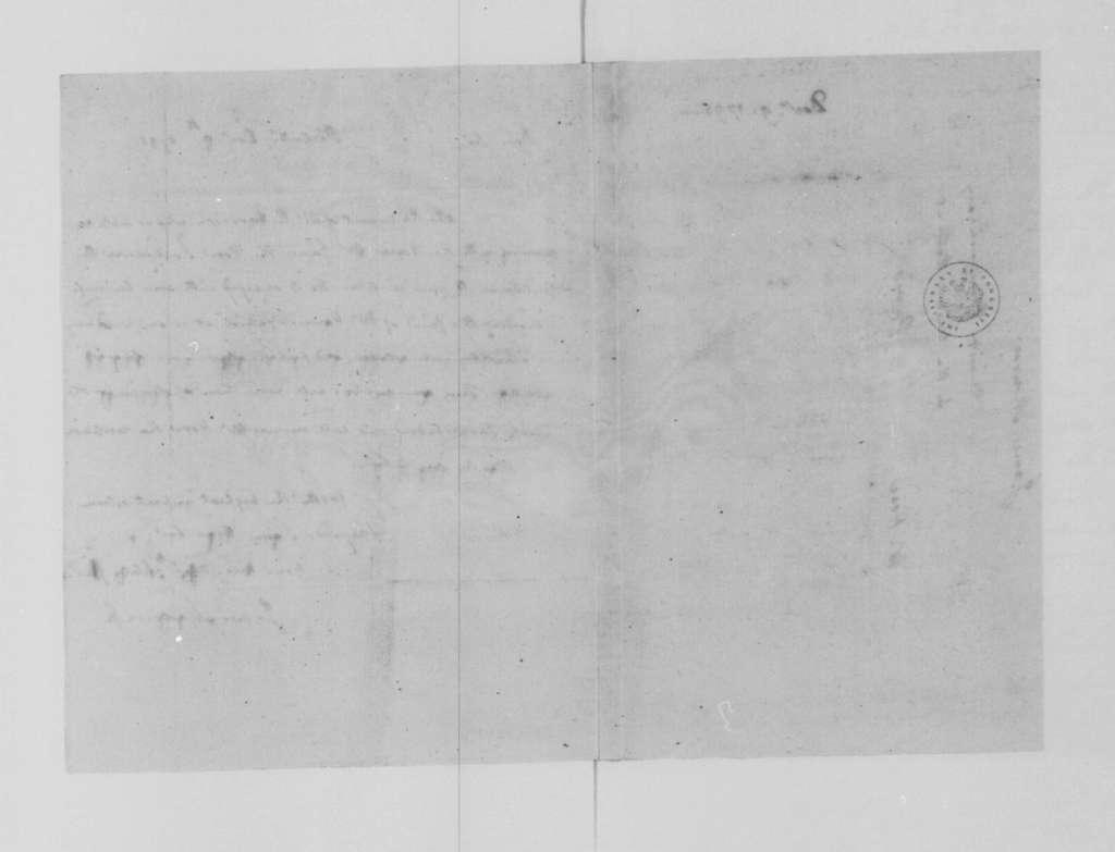 James Madison to James Monroe, December 9, 1795.