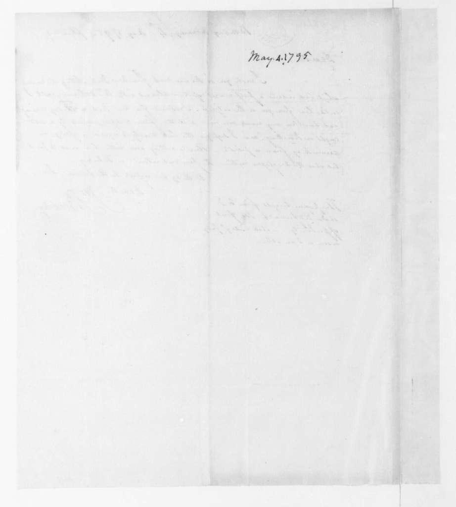 John Beckley to James Monroe, May 4, 1795.