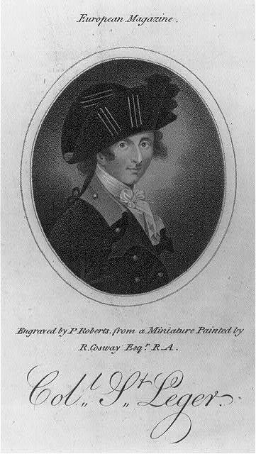 John Hayes St. Leger, 1737-1789