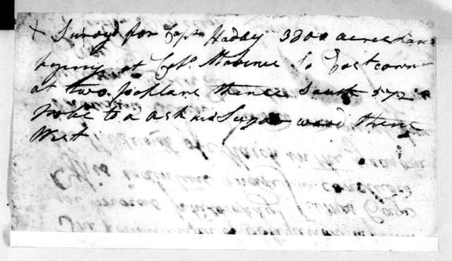 Leven Donelson to James Cage, March 13, 1795