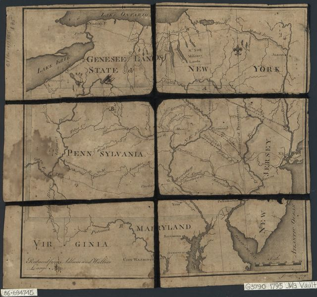 [Map of Pennsylvania, New Jersey, southern New York State, and adjacent parts of Maryland and Virginia] /
