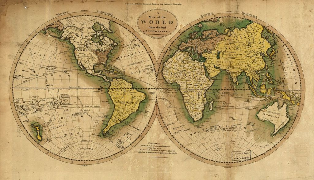 Map of the World from the best authorities.