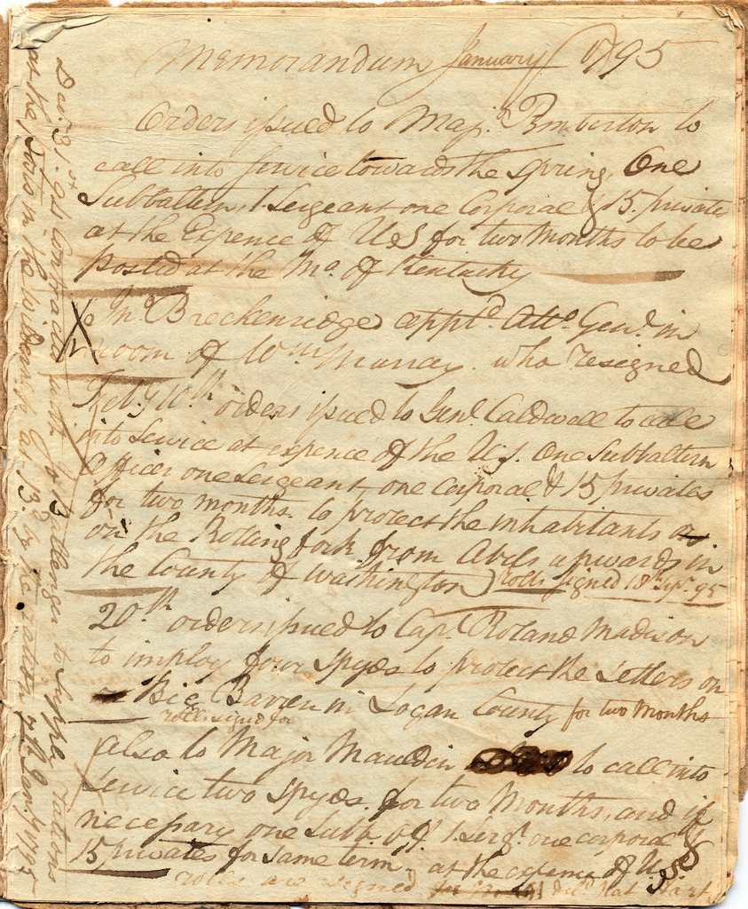 Orderly book of Isaac Shelby