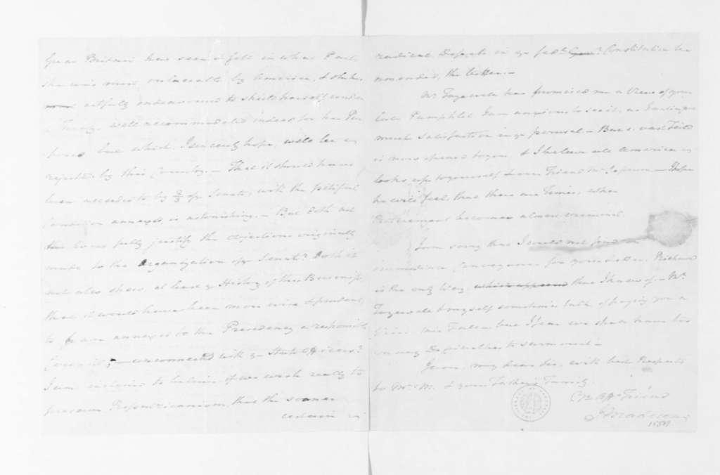 Rev. James Madison to James Madison, July 25, 1795.