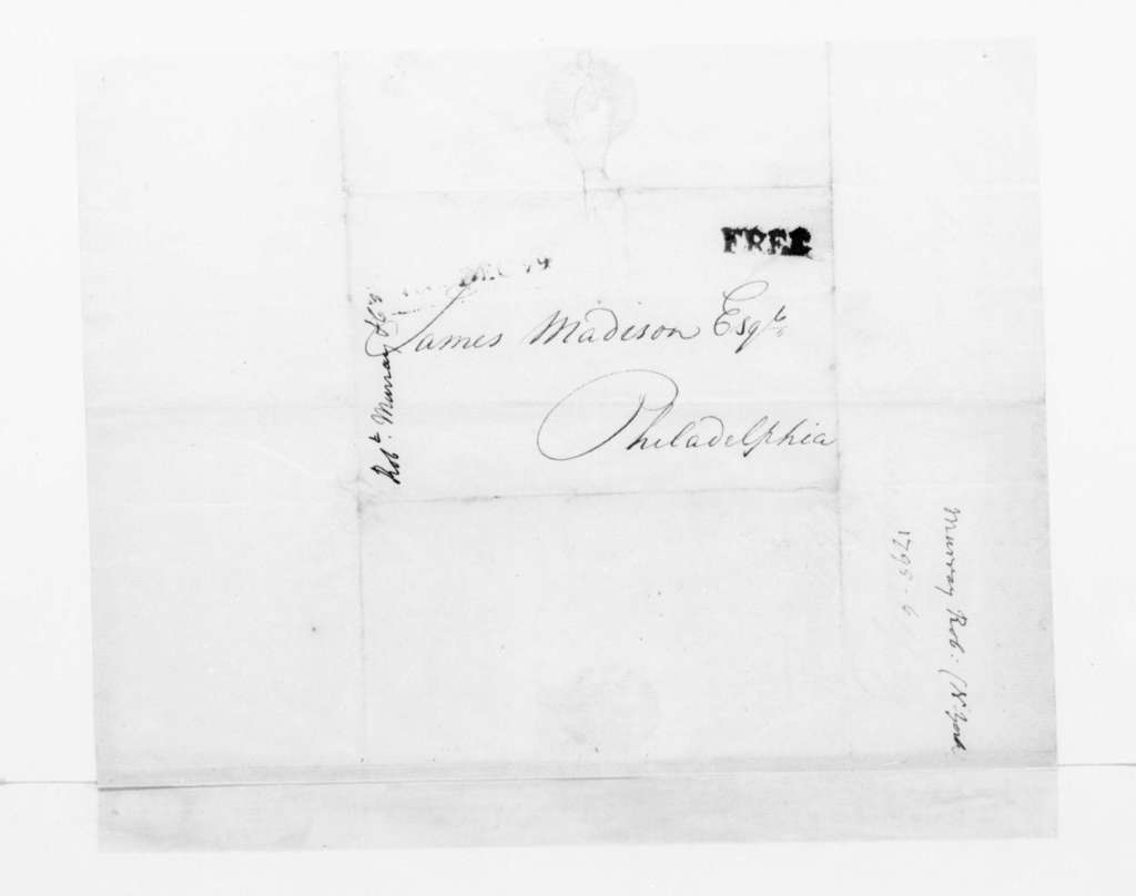 Robert Murray & Co. to James Madison, December 29, 1795.