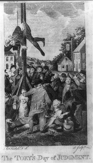The Tory's day of judgment / E. Tisdale, del et sculpt.