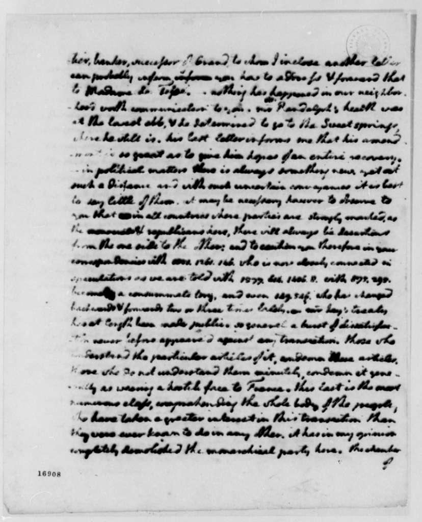 Thomas Jefferson to James Monroe, September 6, 1795