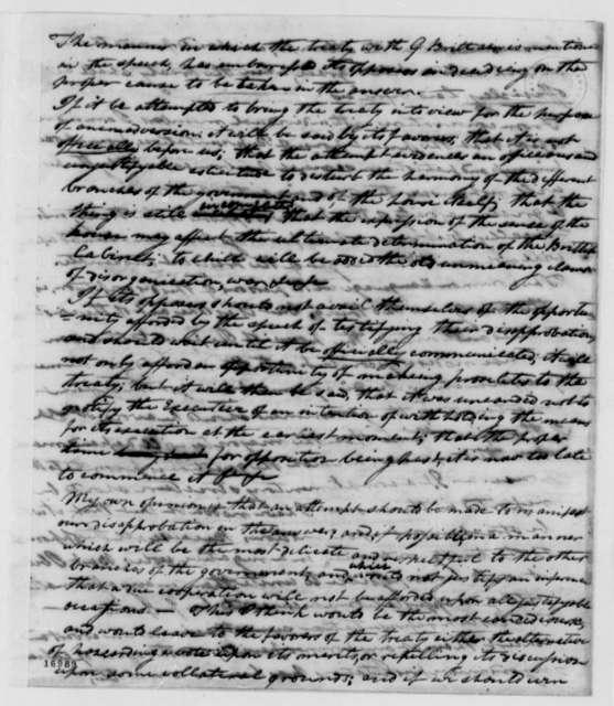 William Branch Giles to Thomas Jefferson, December 9, 1795