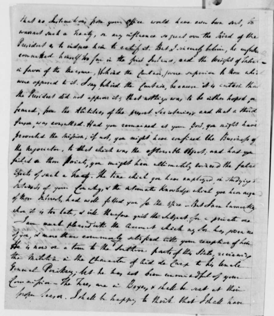 Edward Rutledge to Thomas Jefferson, April 30, 1796