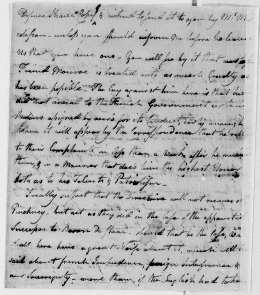 Enoch Edwards to Thomas Jefferson, December 27, 1796