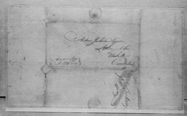 George Cochran to Andrew Jackson