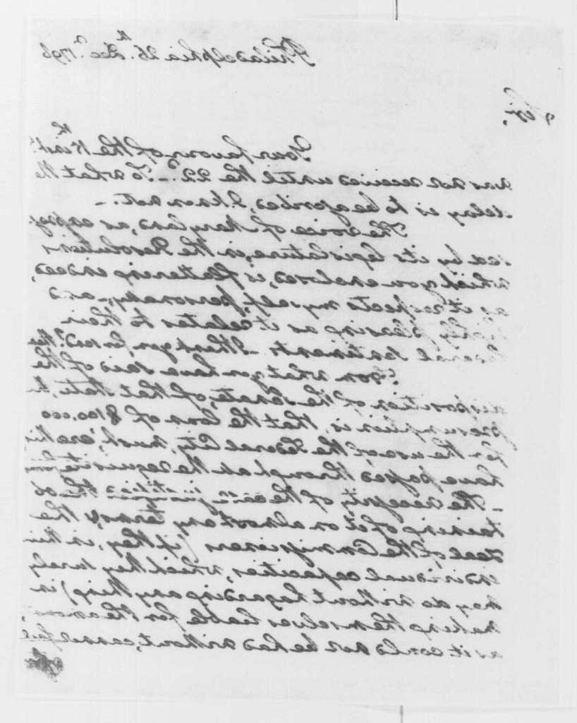 George Washington Papers, Series 4, General Correspondence: George Washington to Gustavus Scott, December 26, 1796