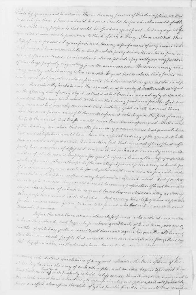 George Washington Papers, Series 4, General Correspondence: James Anderson to George Washington, May 30, 1796