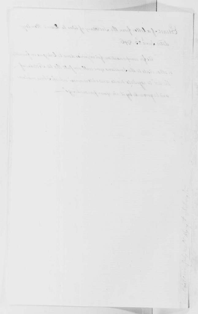 George Washington Papers, Series 4, General Correspondence: James McHenry to David Henley, June 23, 1796