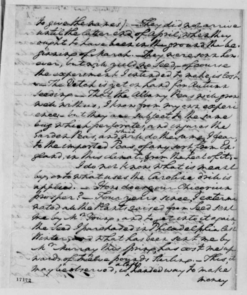 George Washington to Thomas Jefferson, July 6, 1796