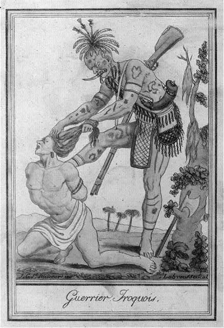 Guerrier Iroquois