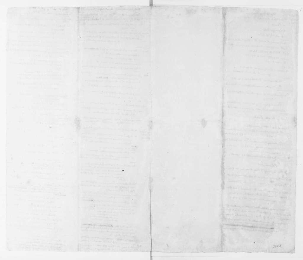 James Madison. Notes for Speech, Jay's Treaty. 1796.