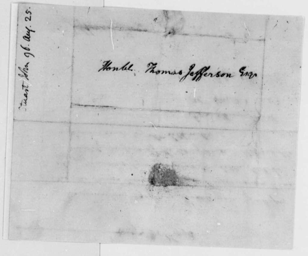 John Stuart to Thomas Jefferson, August 25, 1796