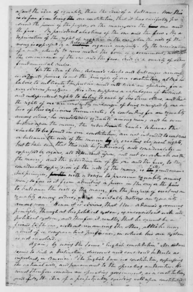 John Taylor to Daniel C. Brent, October 9, 1796