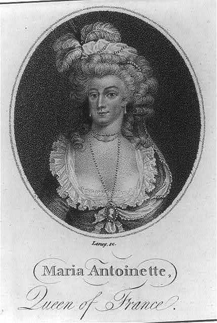 Maria Antoinette, Queen of France / Leney sc.