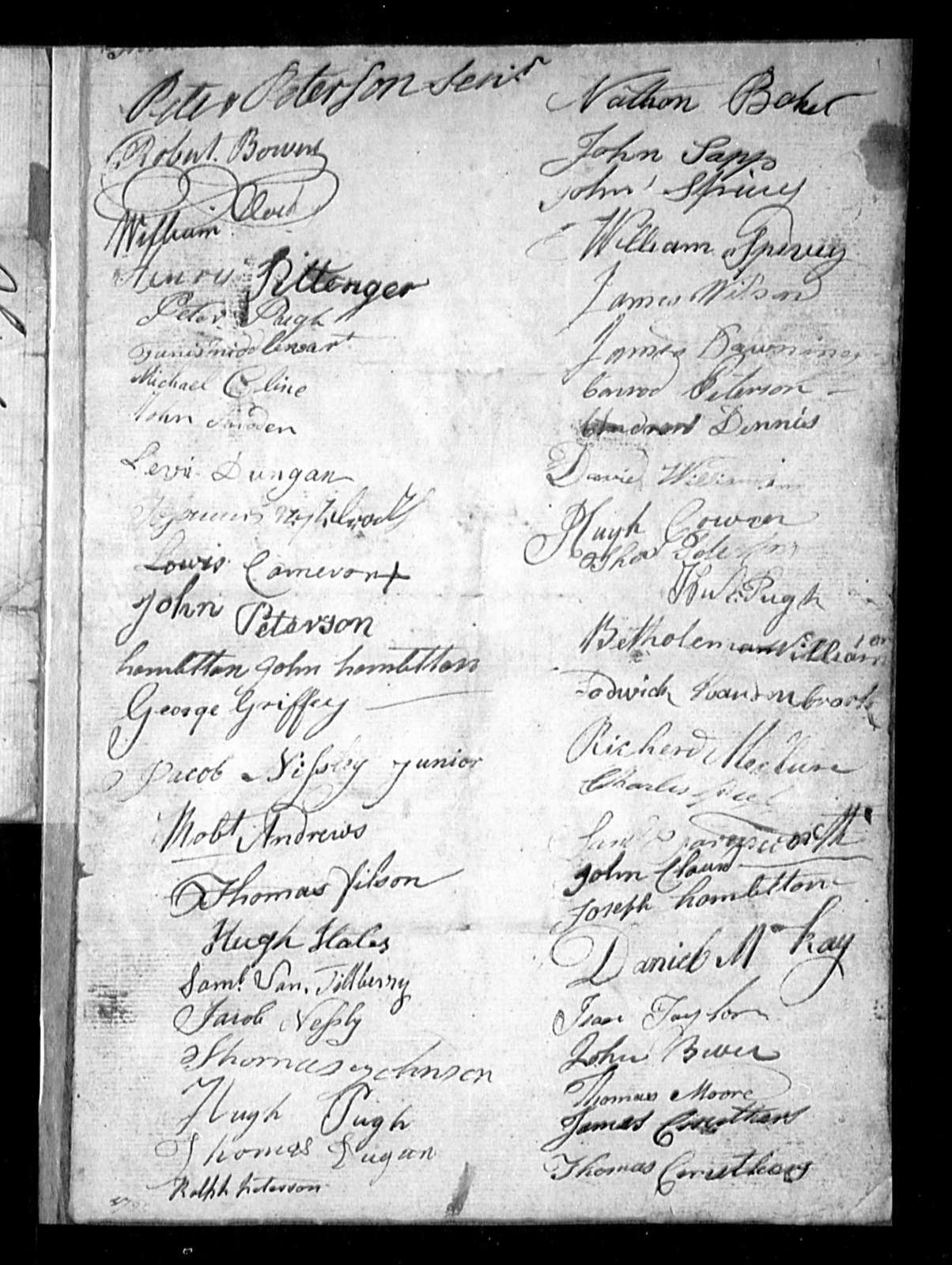 November 18, 1796, Ohio, To authorise Alexander Stevenson, a justice of the peace, to perform marriages.