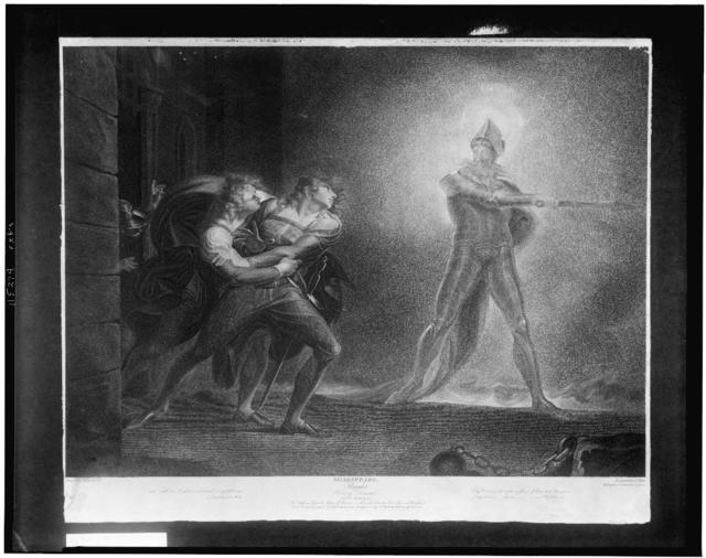 Shakespeare--Hamlet--Prince of Denmark / painted by H. Fuseli R.A. ; engraved by R. Thew.