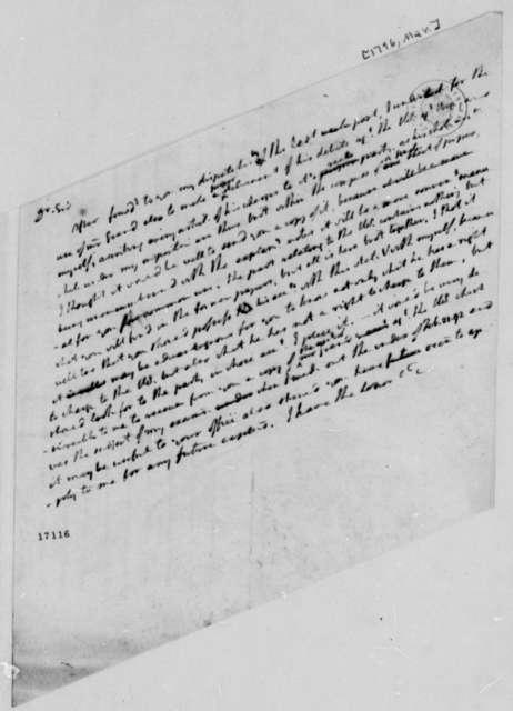 Thomas Jefferson to Richard Harrison, March 1796