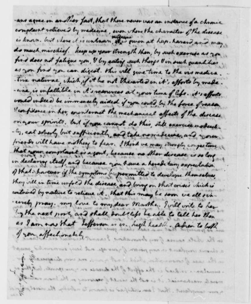 Thomas Jefferson to Thomas Mann Randolph, Jr., January 18, 1796