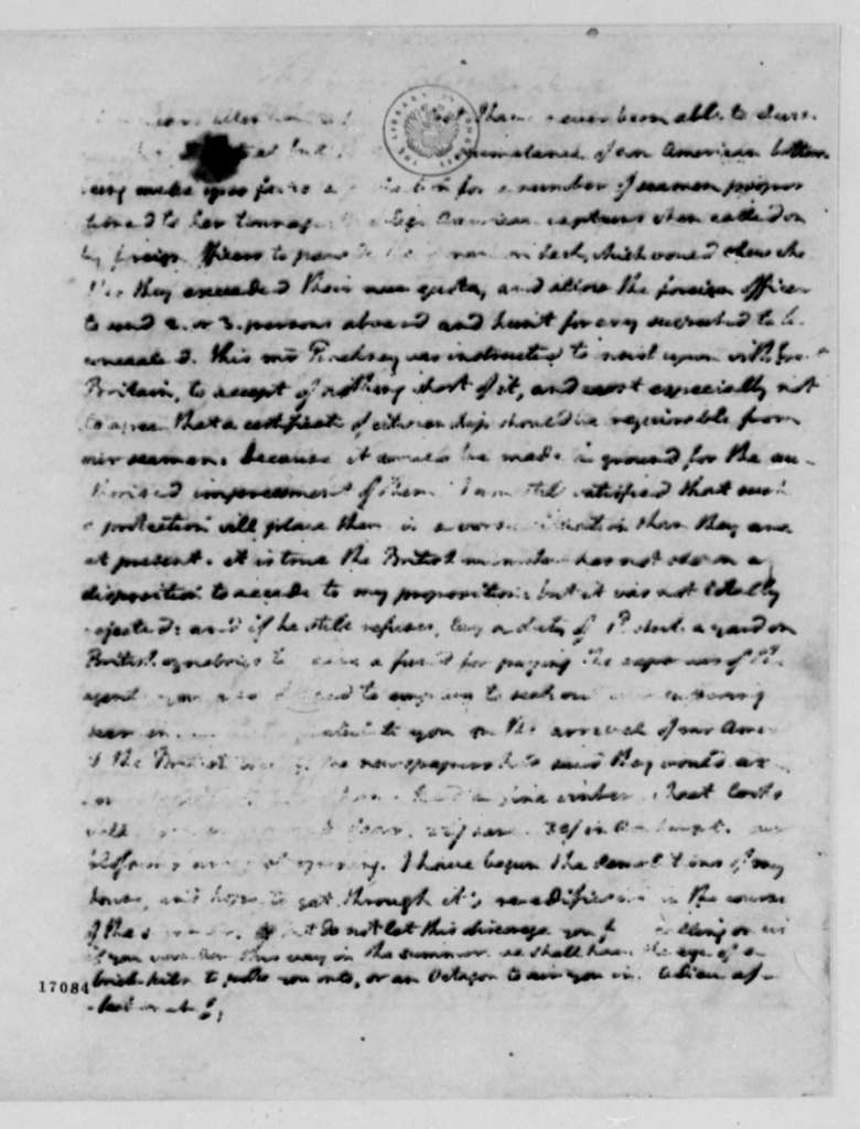 Thomas Jefferson to William Branch Giles, March 19, 1796