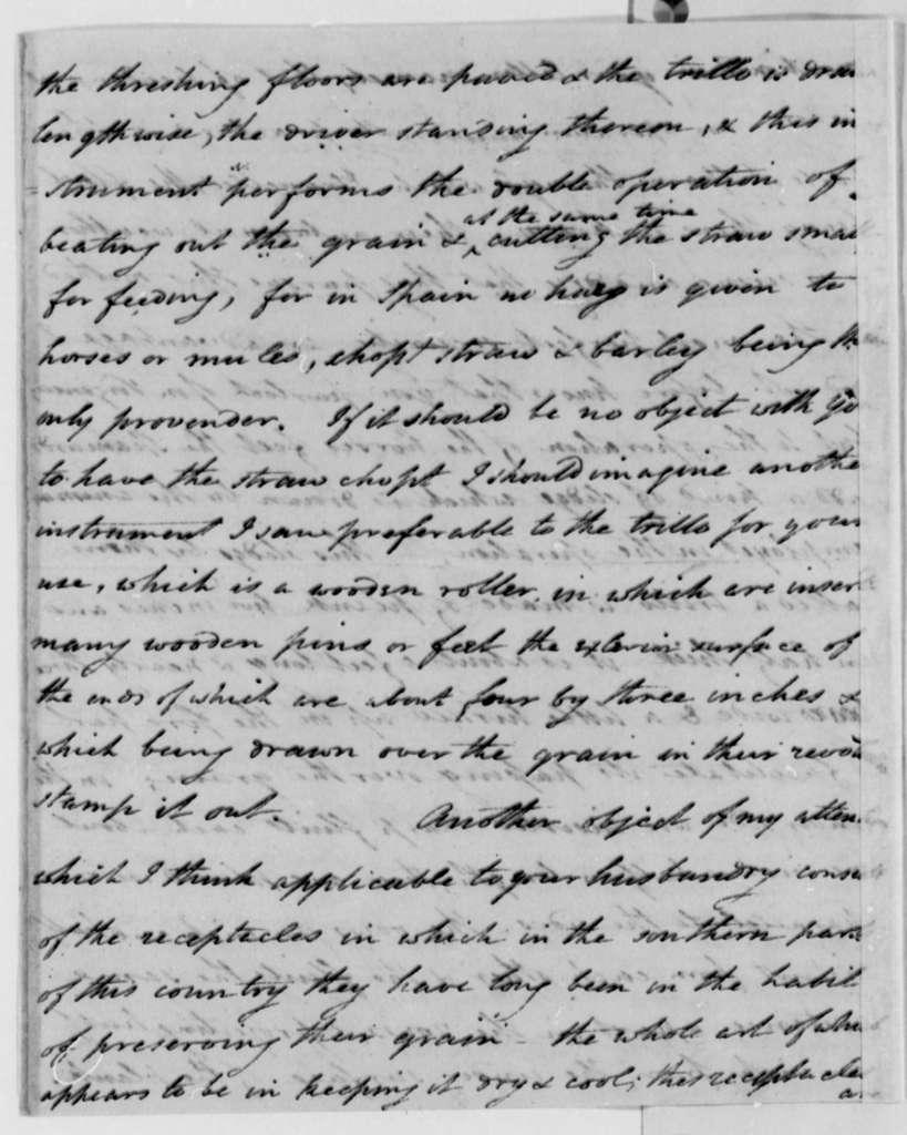Thomas Pinckney to Thomas Jefferson, March 16, 1796