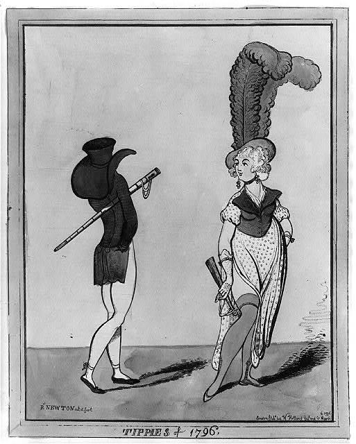 Tippies of 1796 / R. Newton del. et fecit.