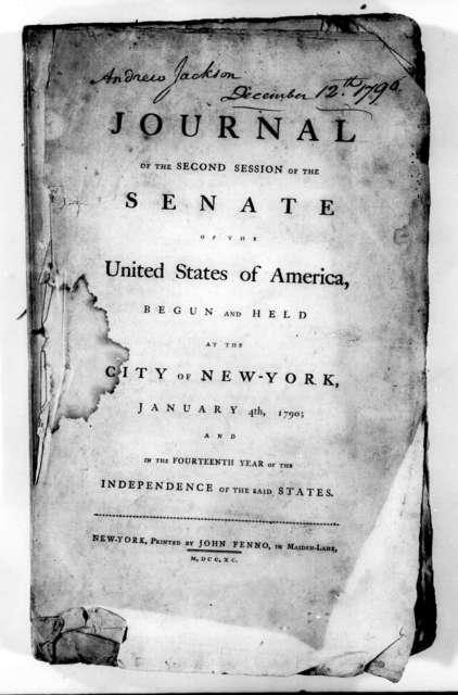 U. S. Senate, December 12, 1796