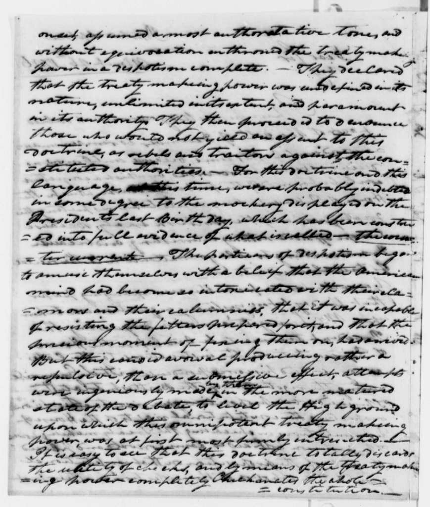 William Branch Giles to Thomas Jefferson, March 26, 1796