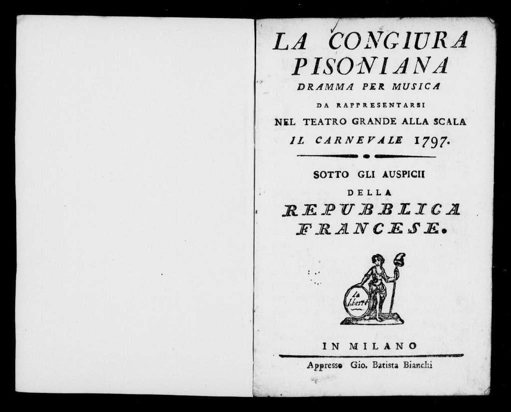 Albagia in fumo (ballo). 1797