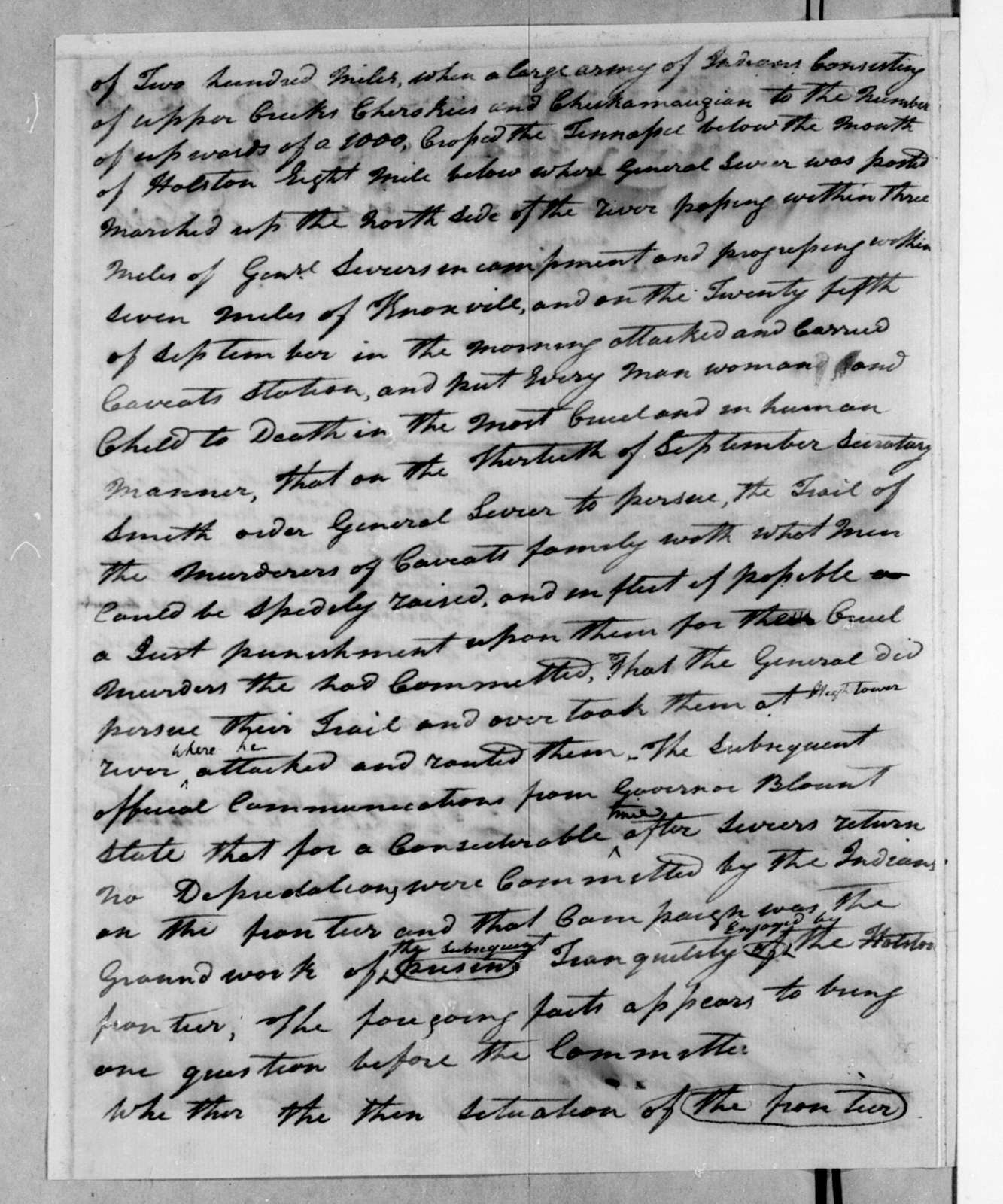 Congressional Committee, February 14, 1797