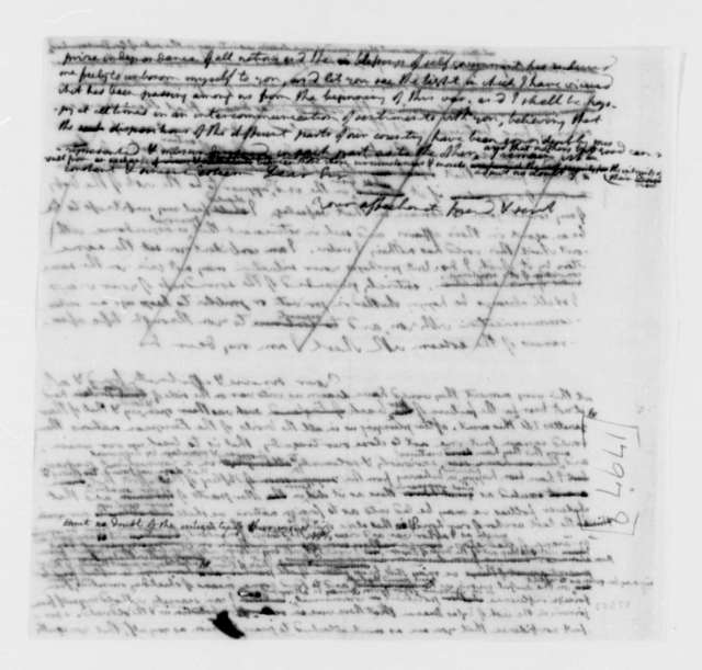 Elbridge Gerry to Thomas Jefferson, May 13, 1797, Draft