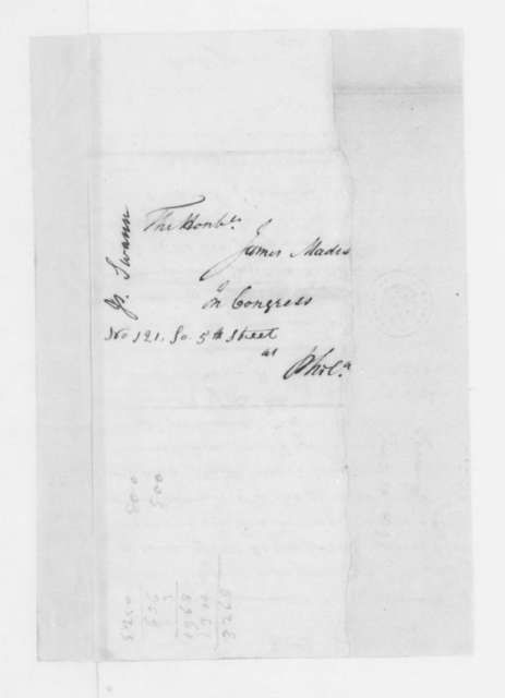 James Swan to James Madison, February 10, 1797.