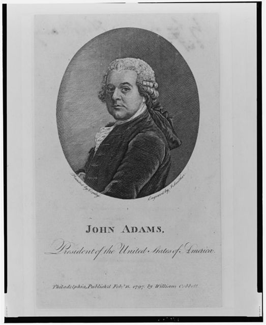 John Adams, President of the United States of America / painted by Copley ; engraved by J. Smither.