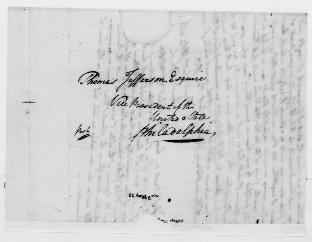Peregrine Fitzhugh to Thomas Jefferson, May 19, 1797