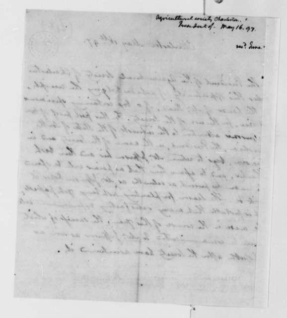 Thomas Bee to Thomas Jefferson, May 16, 1797