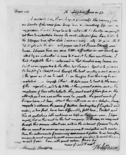 Thomas Jefferson to Edward Stevens, June 14, 1797