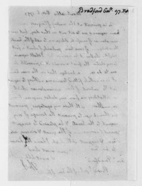 Thomas Jefferson to William Bradford, November 6, 1797
