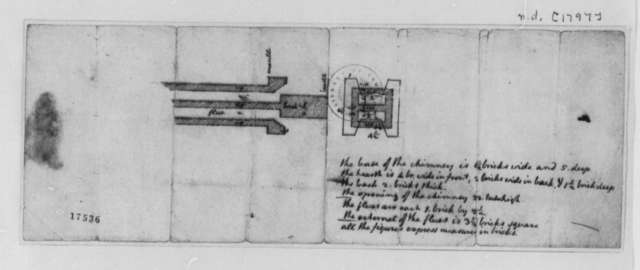 Unknown, 1797, Essay on Charcoal and Gun Powder, with Chimney Plan