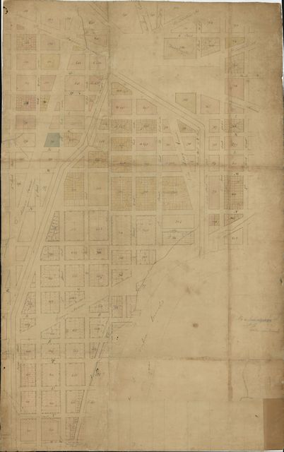 16th plan from E Street south to W and from 3d west to 4th Street east : [Washington D.C.].