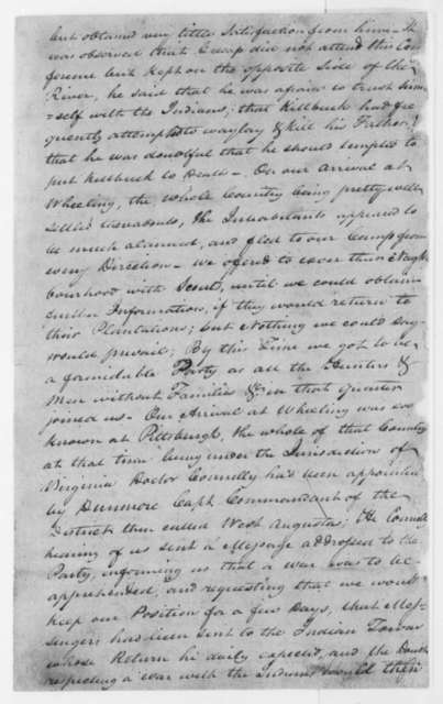George Rogers Clark to Samuel Brown, June 17, 1798