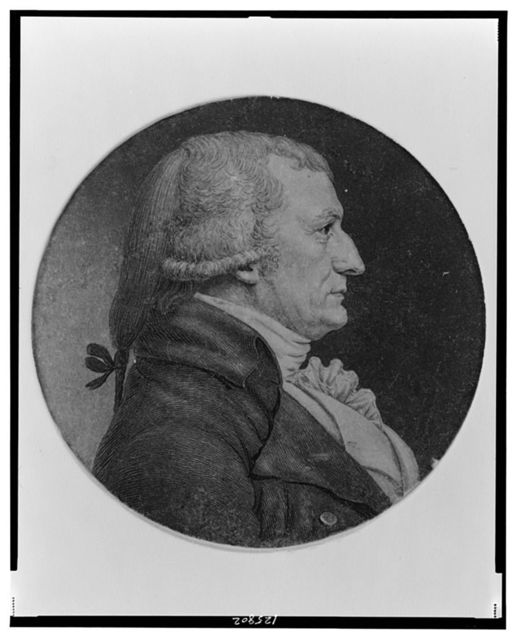 [Henry Latimer, head-and-shoulders portrait, facing right]