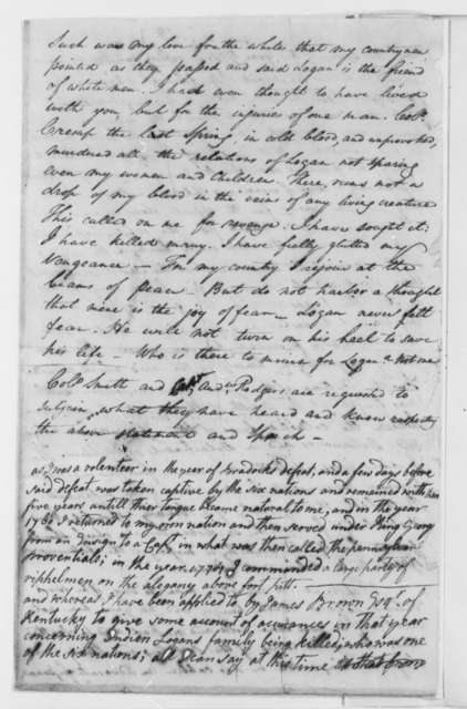 James Smith and Andrew Hodgers, May 25, 1798, Depositions